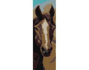 Instant Download Beading Pattern Peyote Stitch Bracelet Chocolate Beauty Seed Bead Cuff