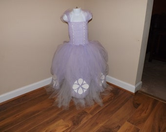 Sophia the first inspired tutu dress/costume