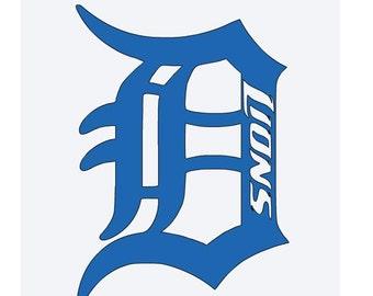 Detroit lions   Etsy