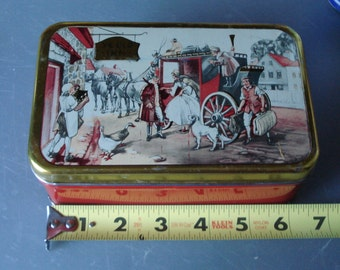 Vintage Ye Old Inn Tin by Pletcher and Pollack N.YC. Bake-In Gift Can