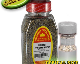 HERB De PROVENCE 4 oz., one price shipping, any quantity, any assortment
