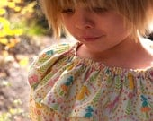 The Prairie Rose Set: Dress, Blouse, Pants, Maxi Skirt Sewing Pattern 18m to 8 (PDF Instand Download)