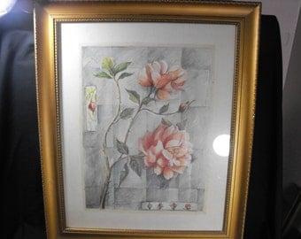 C. Kuris Sacks Floral Framed Print