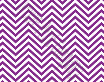 Purple chevron craft  vinyl sheet - HTV or Adhesive Vinyl -  purple and white zig zag pattern   HTV66