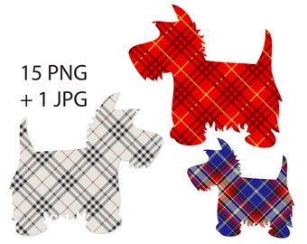 Terrier cliparts PNG and JPG, dog clipart, terrier dog clipart - BR 326