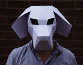 Make you own Beagle Dog Mask - Quick and simple to build with this digital download