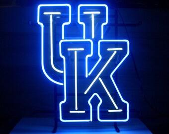 University Of Kentucky Wildcats Beer Bar Real Glass Tube