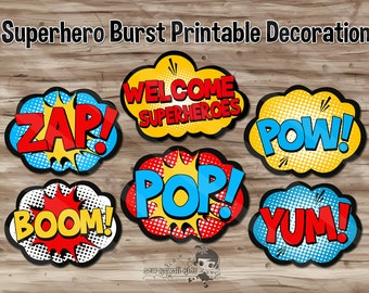 "Shop ""superhero"" in Paper & Party Supplies"
