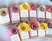 Wedding Soap Favors/Mini Soaps/75/Bridal Shower Soaps/Baby Shower Favors/Soap Favors/Unique Wedding Favors/Natural Soaps/Ur Scent + Colors