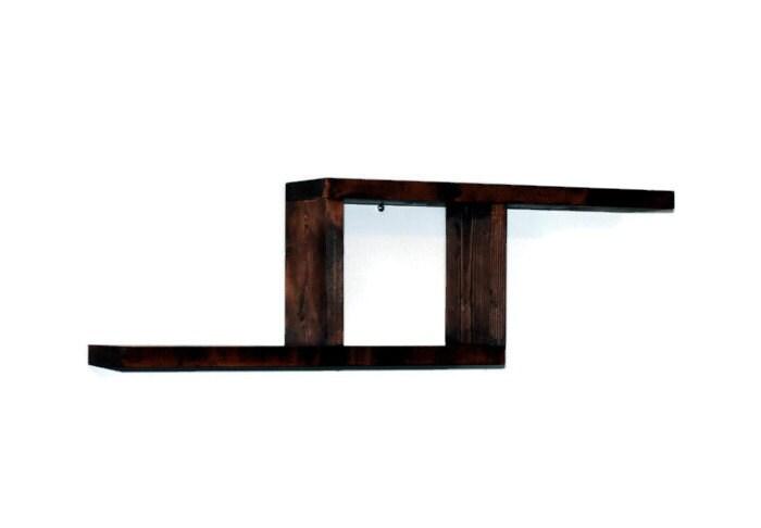 Geometric Shelf Shadow Box Abstract Design By