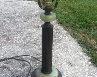 lamp onyx lamp alabaster lamp 1930