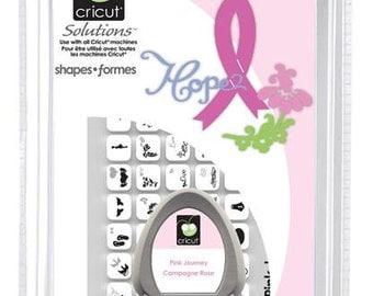 Cricut Pink Journey Solutions Cartridge