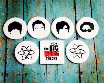 Big Bang Theory Inspired Cupcake Toppers