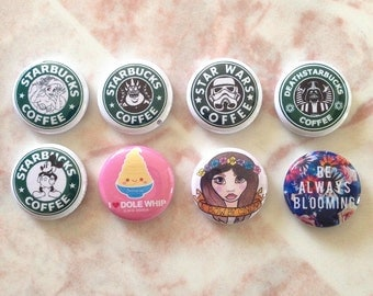 1 inch Buttons / Pins