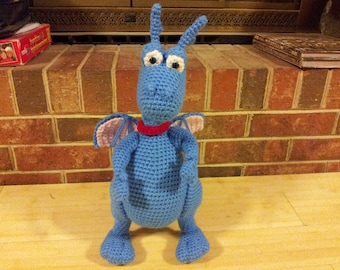 Stuffy the dragon crochet pattern