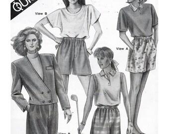 Stretch & Sew Sewing Pattern 785 Shorts  Size:  32-48  Uncut