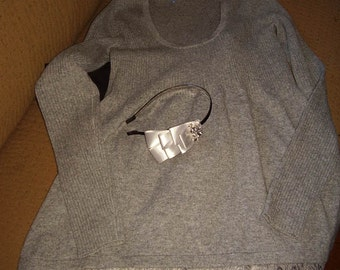 Cashmere designer 'babydoll' women's sweater~