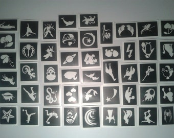 mini small stencils pick as many as you want from drop down menu boys girls - Stencils For Boys