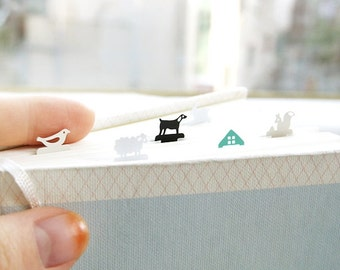 Kawaii Steel Bookmark ver.2 / Cute Bookmark / 10433294