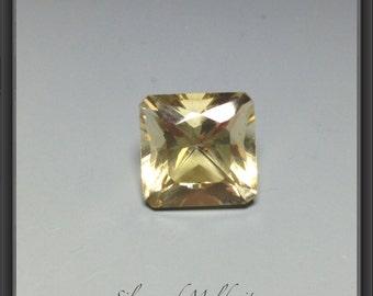 Citrine faceted gemstone 12.40ct