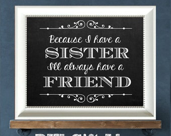 Sister quotes | Etsy