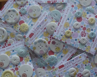 Packet of Porcelain Buttons