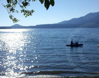 Lake Quinault  Wa. Note Card.  All occasion, blank inside.