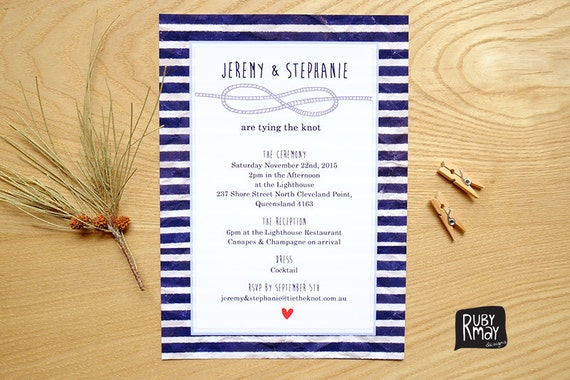 Tie The Knot Wedding Invitations is one of our best ideas you might choose for invitation design
