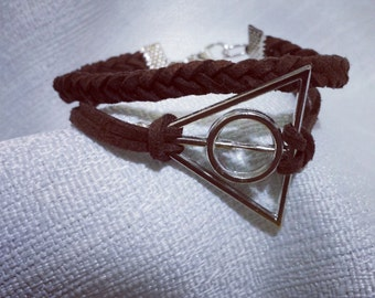 Harry potter deathly hallow bracelet