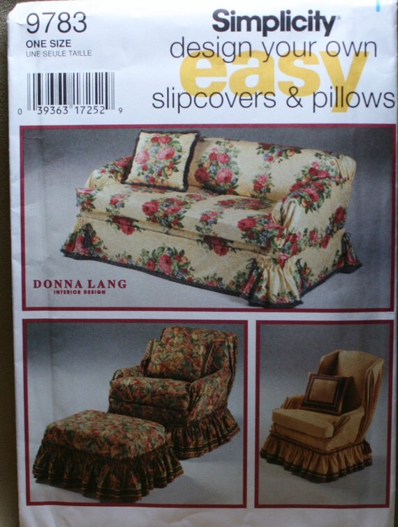 how to put a slipcover on a couch with pillows
