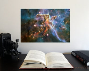 """Stellar Nursery 19"""" x 13"""" Poster - Science Astronomy Wall Art - A Window on the Universe series"""