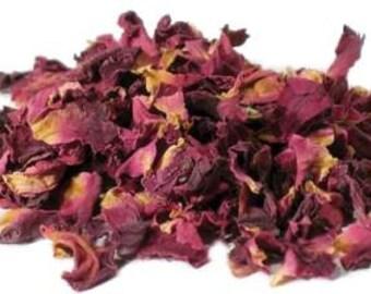 Organic Dried Rose Petals - 5g, 15g, 25g, 50g & 100g