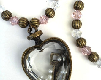 L'Amour *Swarovski Crystal Necklace* (FREE SHIPPING)