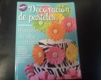 Cake Decorating Books In Spanish : 2013 party Etsy