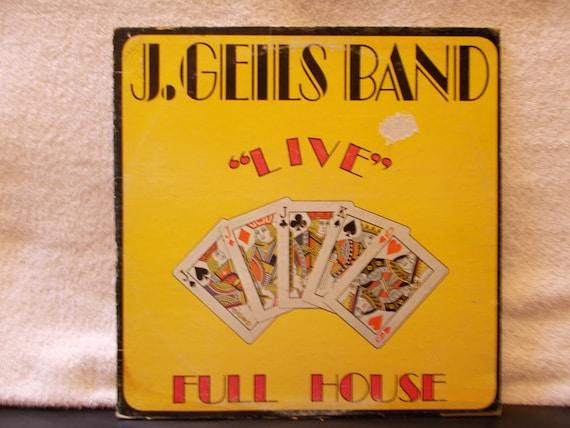J Giles Band Albums : j geils band live full house vintage vinyl lp 33 by abqartistry ~ Vivirlamusica.com Haus und Dekorationen