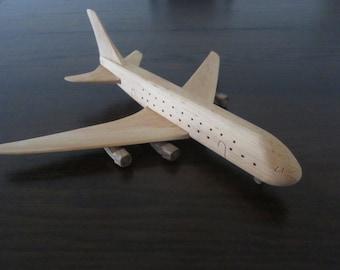 Airbus A380 Jumbo jet plane airliner wooden handmade XXL