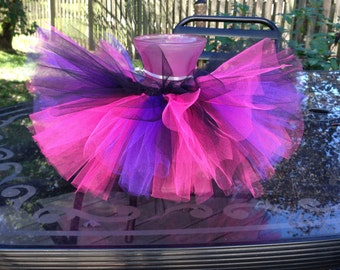 Rockstar Tutu, Rockstar, Tutu, Infant Tutu, Birthday Tutu, Birthday, Photo Prop, Pink Tutu, Purple Tutu, Pink and Purple Tutu