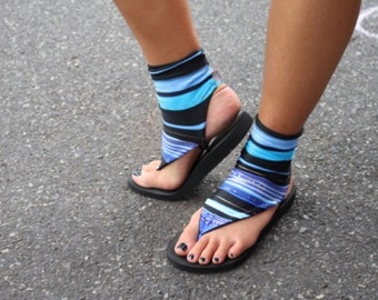 Short Sock Sandals - Customizable and Interchangeable