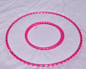 Adult 2 lb hula hoop collapsible travel weighted stylish opens to full size!