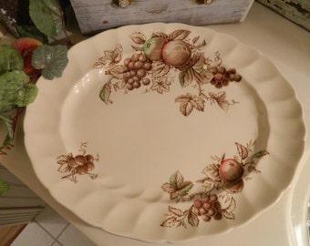 Vintage Johnson Brothers Harvest Time Oval Platter