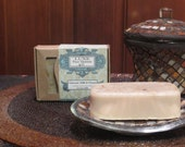 Oatmeal, Milk and Honey Soap - Naturally Exfoliating - 6 oz Soap Bar - LuxePourHommebyG