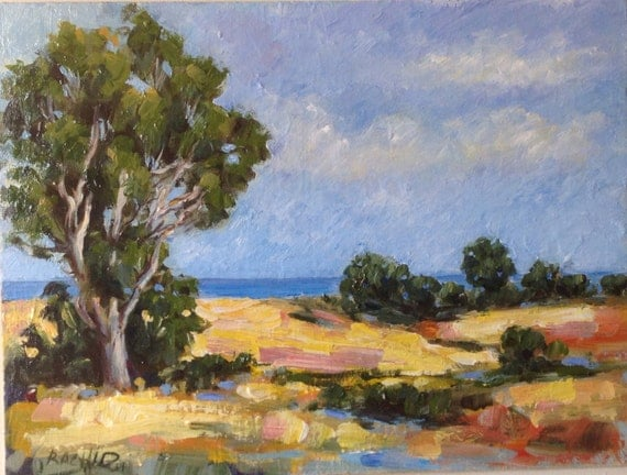 Impressionist Landscape Painting California Painting Semi