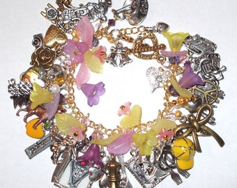 "Ultimate Twilight Saga Inspired-""The Meadows"" Bracelet w/ 43 charms"