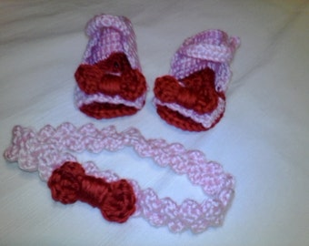 Crochet Sandal set