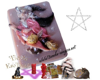 SOAP of the witches, Soap of the Witches, cleaning, protection and success, wicca, magic, pagan, spell