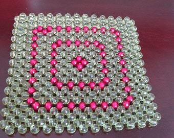 Bead table mat