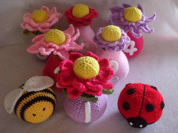 Crochet Pattern - Flower Garden Skittles
