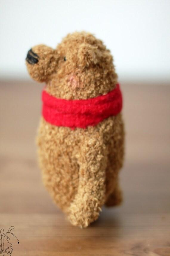 Amigurumi Joints : Pooh/Artist Bear/crocheted/Teddy Bear/Amigurumi