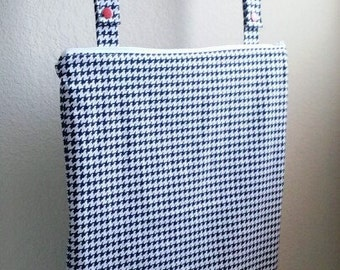 Wetbag, Hanging Wetbag, Kitchen and  Bathroom,Waterproof Bag Houndstooth Wetbag, Cloth Diaper Bag