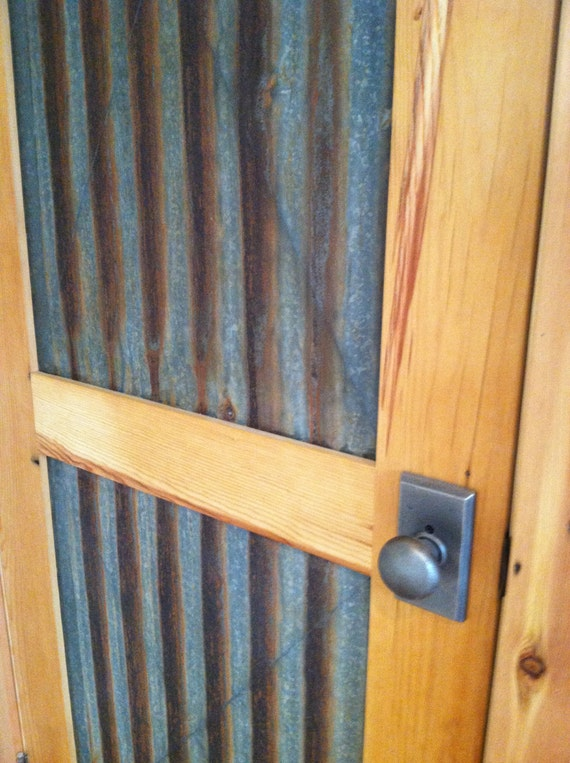Items Similar To Corrugated Panel Door Price Includes